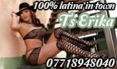 TS Latin Erika - Transexual in Glasgow City Centre